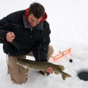 Ice Fishing on the Great Sacandaga