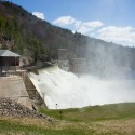 Conklingville Dam on the Great Sacandaga Lake and Sacandaga River