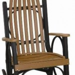 Adirondack Country Store - Grandpa's Rocker - Black Cedar
