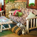 Adirondack Country Store - Cedar Log Futon Cover