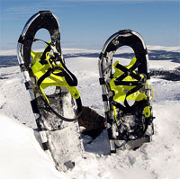 Snowshoes for winter hikes