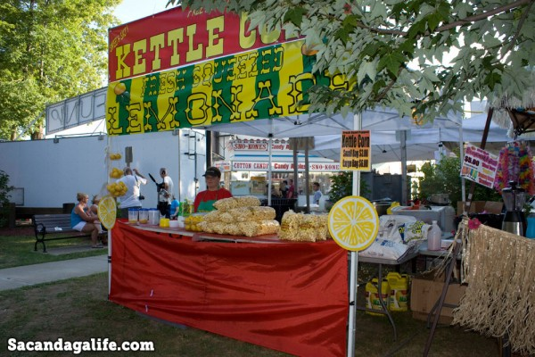 Kettle Corn and Lemonade Stand