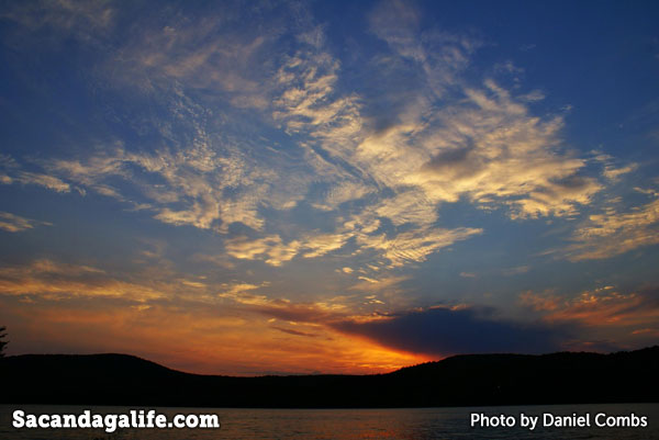 Golden Sunset on the Great Sacandaga