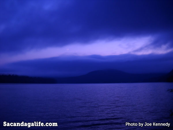Great Sacandaga Lake from North Shore in Hadley