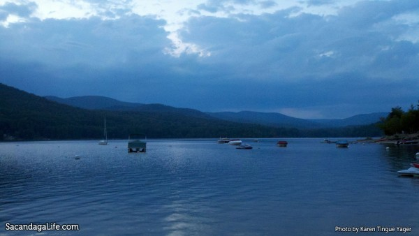 Peaceful View of the Great Sacandaga Lake from the Town of Day