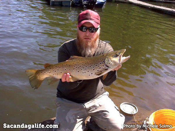 Sacandaga Brown Trout - 24in 5lbs