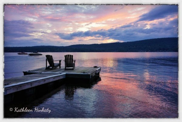 Sunset on the Great Sacandaga Lake
