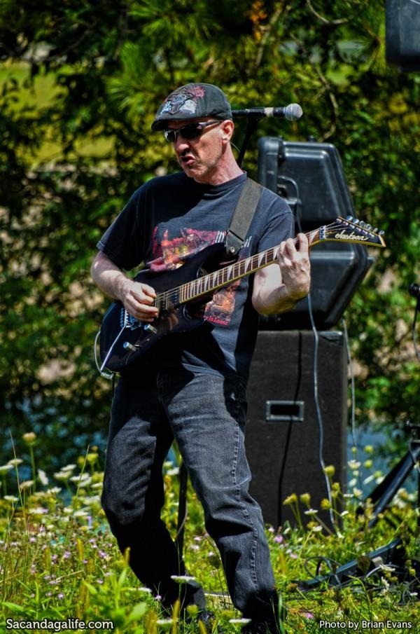 Scott Price rocking the guitar