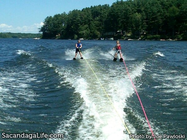 Waterskiing on the Great Sacandaga